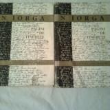 PAGINI DE TINERETE - STUDII SI DOCUMENTE ~ N.IORGA (vol..I+II ) - Biografie