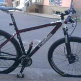 Vand mountain bike pells razzer 329, 19 inch, Numar viteze: 30, Aluminiu, Negru-Rosu, MTB 29er