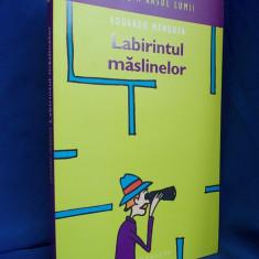 EDUARDO MENDOZA - LABIRINTUL MASLINELOR(ROMAN UMORISTIC) - BUCURESTI - 2006 - Carte Literatura Spaniola