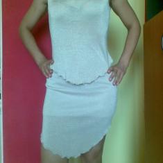 Rochie de seara marimea S, material lurex, de ocazie!, Marime: 36, Culoare: Auriu, Scurta