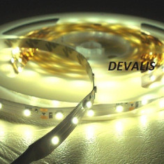 Iluminat decorativ G-View - Banda led 60 smd /ml 3528 alb cald - Non Waterproof 8.5 lei ml