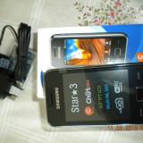 Telefon samsung star 3, Negru, 3'', Smartphone, Touchscreen, 3.2 MP