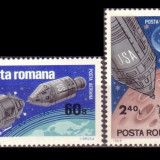 Timbre Romania, Spatiu - LP 702 - Apollo 9 si 10 - 50% din pret lista Romfilatelia