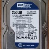 Hdd Western Digital 250 GB - Hard Disk Western Digital, 200-499 GB, Rotatii: 7200, SATA2, 8 MB