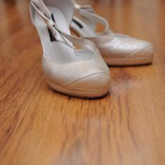Pantofi dama, Marime: 37 - PANTOFI MIREASA KALONI
