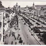 Carti Postale Romania dupa 1918 - RPR, CP circulata 1968, Targu Mures, Piata Trandafirilor, FOARTE ANIMATA !