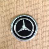 Emblema capac roata MERCEDES NEGRU 60 mm - Embleme auto