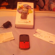Telefon Samsung, Roz, 8GB, Neblocat, Single core, 2 GB - Vand Samsung chat 335 roz