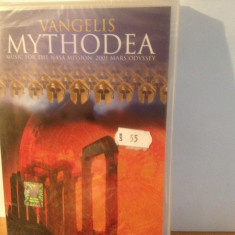 VANGELIS - MYTHODEA (CONCERT AT TEMPLE OF ZEUS) (2001/SONY ) - DVD NOU/SIGILAT - Muzica Rock sony music