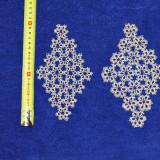 Mileu macrameu lucrat manual - tesatura textila