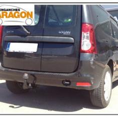 Carlig remorcare auto Dacia Logan MCV, LOGAN MCV (KS) - [2007 - 2013]