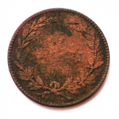 Monede Romania, An: 1867 - ROMANIA 5 BANI 1867 HEATON **
