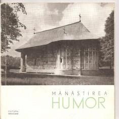 (C4305) MANASTIREA HUMOR DE STEFAN BALS, EDITURA MERIDIANE, 1965 - Hobby Ghid de calatorie