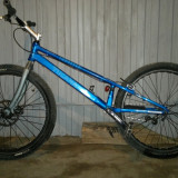 Magellan Tucana trial bicicleta - Mountain Bike, 26 inch, Numar viteze: 1, Aluminiu, Albastru, Fara amortizor