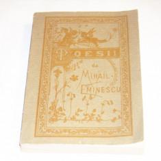 MIHAIL EMINESCU - POESII ~ reeditare dupa editia din 1884 ~ - Carte poezie