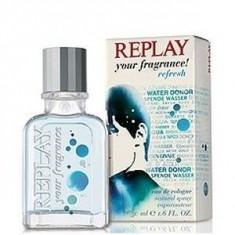 Replay Your Fragrance! Refresh Eau De Cologne 30 ml pentru barbati - Parfum barbati