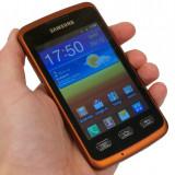 Telefon Mobil Samsung S5690 Galaxy Xcover Black Orange - Telefon mobil Samsung Galaxy Xcover, Negru, Neblocat