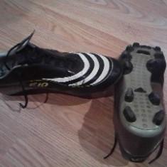 Ghete fotbal Adidas, Marime: 41.5, Negru, Barbati - Ghete Adidas F10 TRX FG