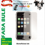 Folie de protectie iPhone 3G / 3GS Clear MONTAJ iNCLUS in Pret
