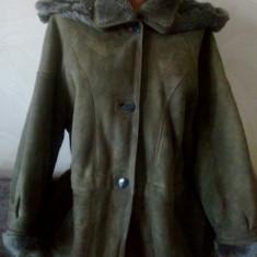 Palton dama, Gri, Marime: 46 - Cojoc dama, original, marca