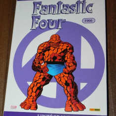 RARITATE BD Comics stan lee, jack kirby - FANTASTIC FOUR L INTEGRALE . integrala 1966 benzi desenate Marvel Panini CEI PATRU FANTASTICI - Reviste benzi desenate