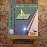 Manual Clasa a VIII-a, Alte materii - Dana Radu - Matematica manual pentru clasa a VIII a