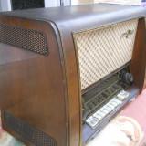 METEOR LOEWE OPTA -RADIO VECHI 1955 FUNCTIONEAZA