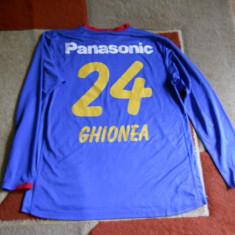 Tricou echipa fotbal, XL, De club, Steaua Bucuresti, Maneca lunga - Tricou de joc Nike Sorin Ghionea -24-Steaua Bucuresti 2006- RAFO-Panasonic