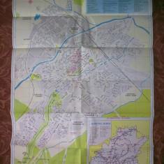 Harta Sibiu - Harta Turistica