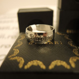 Inel unisex BVLGARI Couples Ring din otel inoxidabil Size 8 cod intern 682 - Inel inox