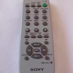 TELECOMANDA SONY RM - SCL1, PENTRU SISTEM AUDIO . - Telecomanda aparatura audio