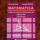 Culegere Matematica clasa VI sem II editura Carminis 2007
