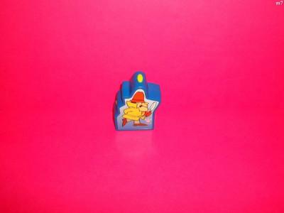 figurina personaj din desene animate din pantera roz ce lumineaza din plastic de la burger king foto