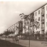 CPI (B2884) BUCURESTI, LOCUINTE NOI IN CARTIERUL FERENTARI, COMBINATUL POLIGRAFIC CASA SCANTEII, CIRCULATA, 1960, STAMPILE, TIMBRU, RPR