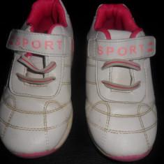 Adidasi fetite - Adidasi copii, Fete, Marime: 26, Alb