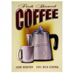 46.Reclama metalica vintage - Coffee - Cutie Reclama