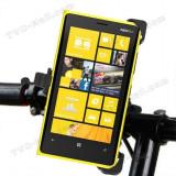 Suport bicicleta motocicleta original Nokia Lumia 920 + folie protectie ecran + expediere gratuita
