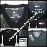 PULOVER BLEUMARIN BARBATI GEN FIRMA TOMMY HILFIGER EXCLUSIVE ANCHIOR 100% LANA