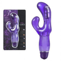 Ultra G-Spot vibrator jelly violet, 16cm - Vibrator Clitoris
