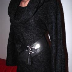 Rochie tricotate, Gri, M, Scurta, Lunga - Rochie tricotata X-Mail