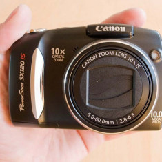 Vand/schimb Canon PowerShot SX120 IS - Aparat Foto Canon PowerShot SX160 IS