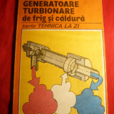 Carti Energetica - V.Radcenco - Generatoare turbionare de frig si caldura (tubul Ronque) Ed.Tehnica 1990.