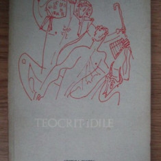 Teocrit Idile ELU 1969 - Carte poezie