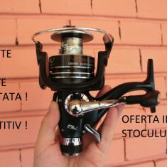 Mulineta - Set 4 Mulinete FL VioSteeze 4000 10 rulmenti cu baitruneer ( Bait-runner ) Idela Pescuit crap / Feeder