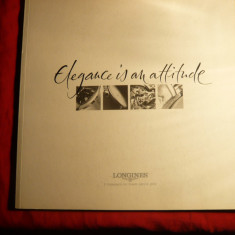 Carte hobby - Catalog Ceasuri Longines -Eleganta este atitudine