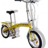 "Bicicleta pliabile, 16 inch, 16 inch, Numar viteze: 1, Fara amortizor - Bicicleta Pliabila 16"" la oferta"