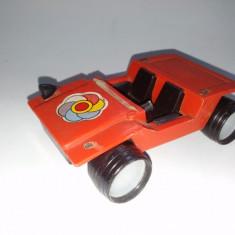 Veche jucarie romaneasca - Mini masinuta de teren, fabricata la I.M.P. Viitorul Oradea, perioada anilor '80 - Colectii