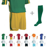 Echipament fotbal SILVER + jambieri CLASSIC - Set echipament fotbal, Marime: XXL, XL, L, M, S, XS