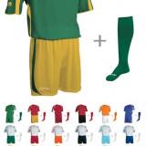 Set echipament fotbal - Oferta echipament fotbal SILVER + jambieri CLASSIC