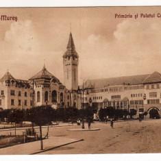 TARGU MURES PRIMARIA SI PALATUL CULTURAL CU STAMPILA SPECIALA 1940